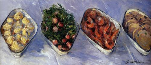 Hors D'Oeuvre - Gustave Caillebotte