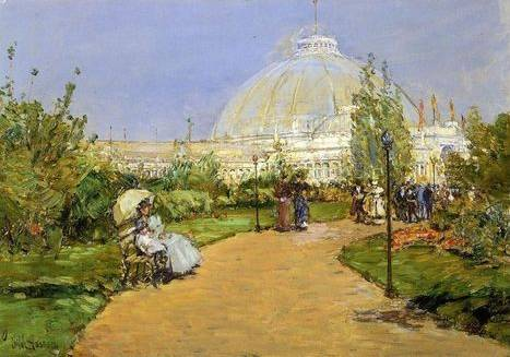 Horticultural Building, Worlds Columbian Exposition - Childe Hassam