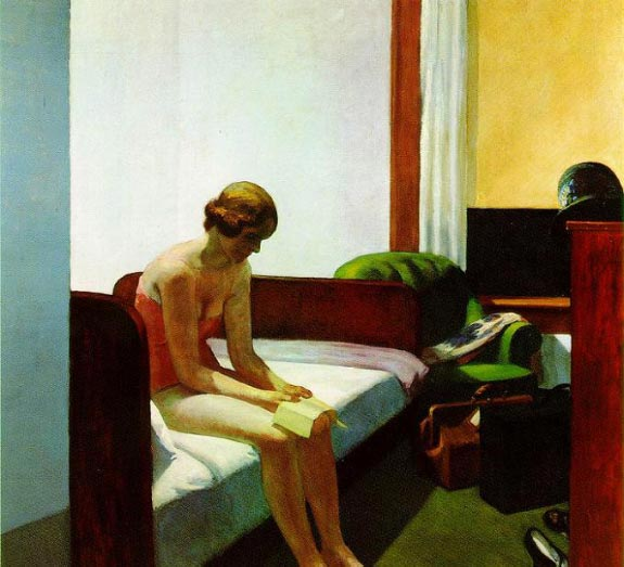 Hotel Room - Edward Hopper