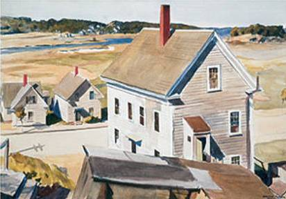 House By Squam River, Gloucester - Edward Hopper
