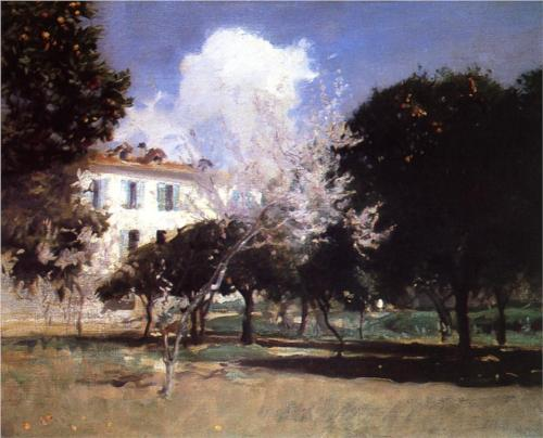 House and Garden - John Singer Sargent