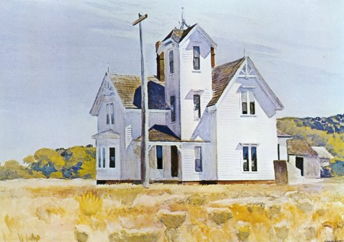 House at Eastham - Edward Hopper