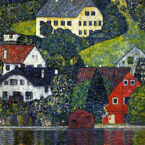 House in Unterach - Gustav Klimt
