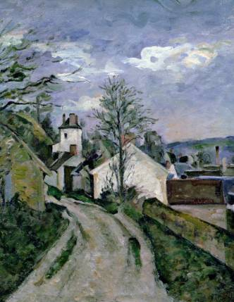 House of Dr. Gachet at Auvers - Paul Cezanne