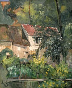 House of Pierre La Croix - Paul Cezanne