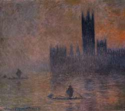 Houses of Parliament (Fog Effect) - Claude Monet