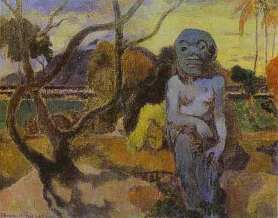Idol (Rave te Hiti Aamy) - Paul Gauguin