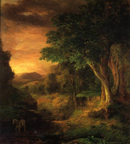 In the Berkshires - George Inness