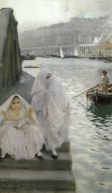 In the Harbour by Algier - Anders Zorn