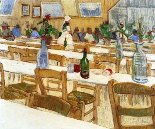 Interior of a Restaurant II - Vincent Van Gogh