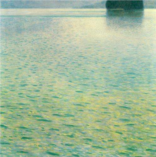 Island in the Attersee - Gustav Klimt