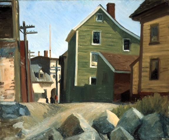 Canvas Santa Fe >> Edward Hopper Painting Reproductions for Sale | Canvas ...