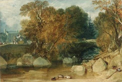 Ivy Bridge - Joseph Mallord William Turner