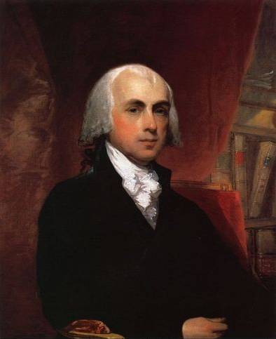 James Madison - Gilbert Stuart