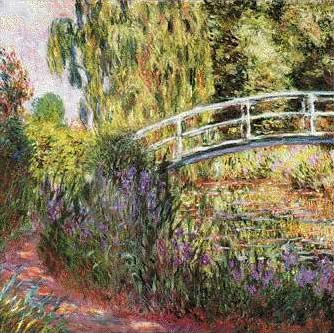 Japanese Bridge 1900 - Claude Monet