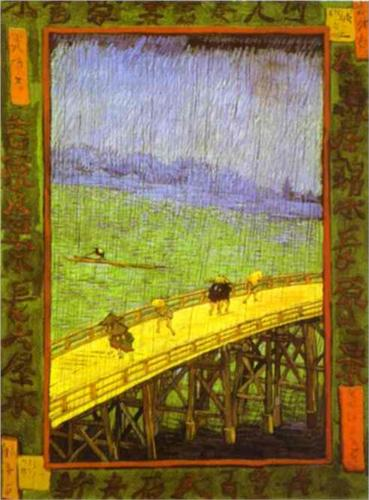 Japanese Bridge - Vincent Van Gogh
