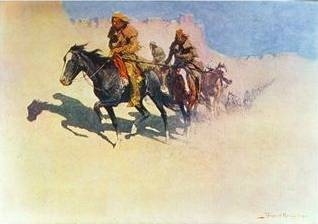 Jedediah Smith Across the Desert - Frederic Remington