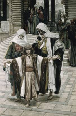 Jesus Found in the Temple - James Tissot