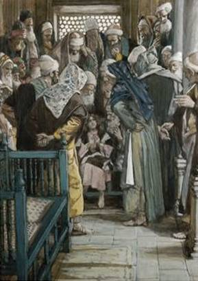 Jesus Sitting in the Midst of the Doctors - James Tissot
