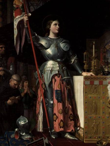 Joan of Arc - Jean Auguste Dominique Ingres