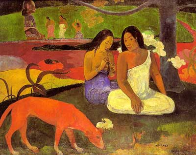 Joyeusness (Arearea) - Paul Gauguin