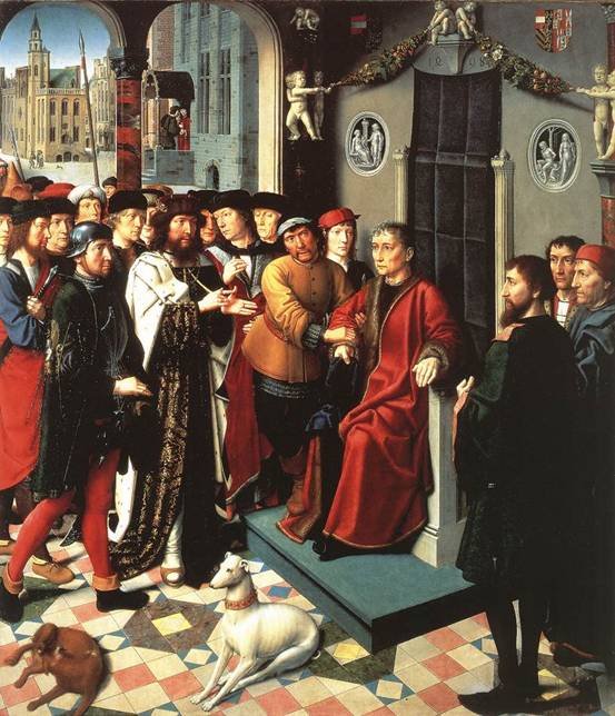 Judgment of Cambyses - Gerard David