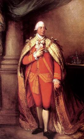 King George III - Thomas Gainsborough