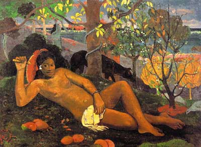 King's Wife (Te arii vahine) - Paul Gauguin