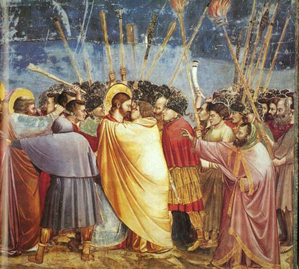 Kiss of Judas - Giotto di Bondone