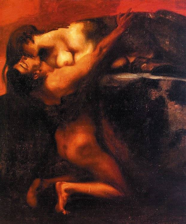 Kiss of the Sphinx - Franz Von Stuck