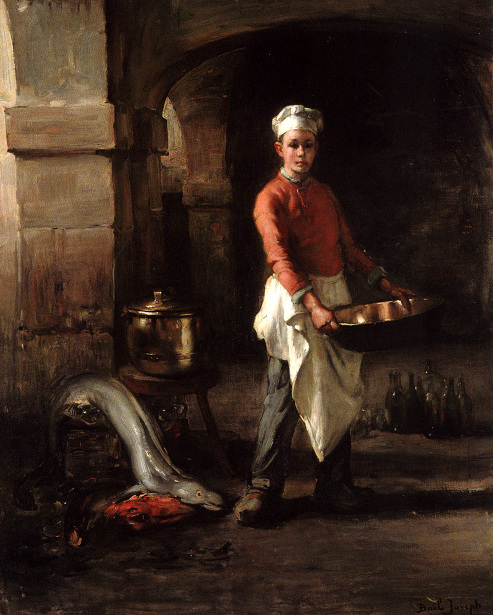 Kitchen Boy - Claude Joseph Bail