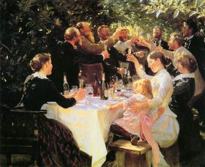 Kroyer Party At Skagen - Peter Severin Kroyer