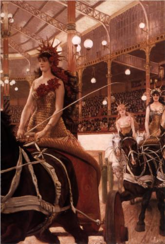 Ladies of the Cars - James Tissot