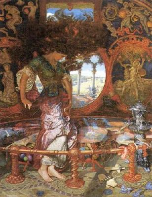 Lady of Shallot - William Holman Hunt