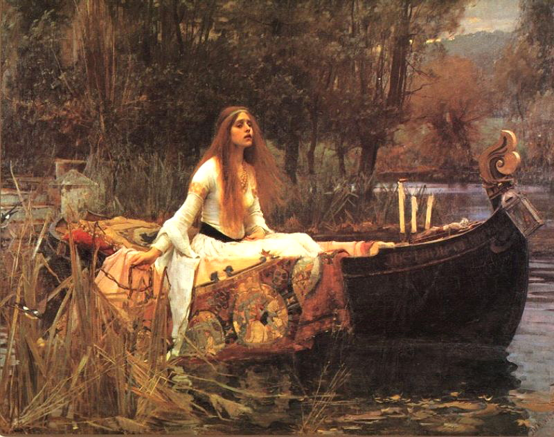 Lady of Shalott - John William Waterhouse