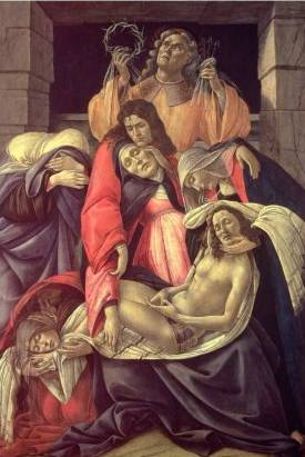Lamentation Over the Dead Christ - Sandro Botticelli