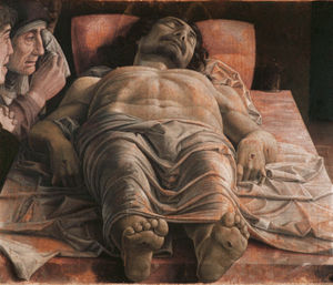 Lamentation over the Dead Christ - Andrea Mantegna