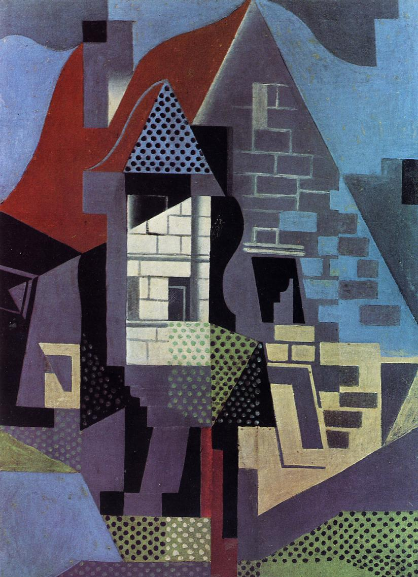 Landscape at Beaulieu - Juan Gris