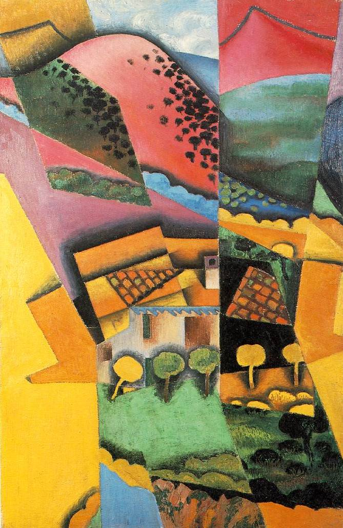 Landscape at Ceret - Juan Gris