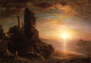 Landscape in Greece - Frederic Edwin Church