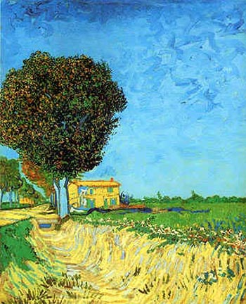 Lane near Arles - Vincent van Gogh
