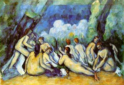 Large Bathers - Paul Cezanne