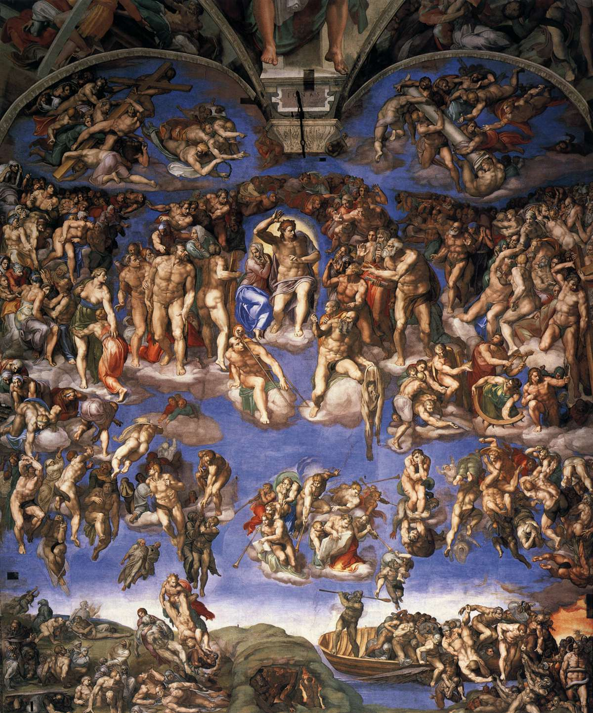 Last Judgment - Michelangelo