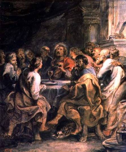 Last Supper - Peter Paul Rubens