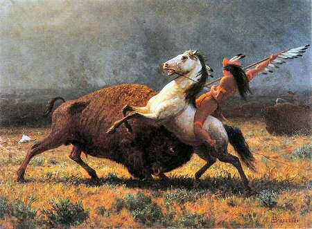 Last of the Buffalo - Albert Bierstadt