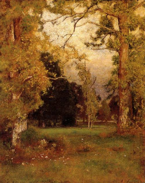 Late Afternoon 1882 - George Inness