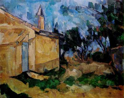 Le Cabanon de Jourdan - Paul Cezanne