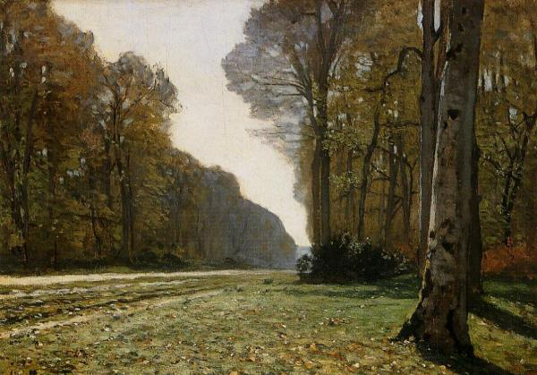 Le Pare de Chailly in the Forest - Claude Monet