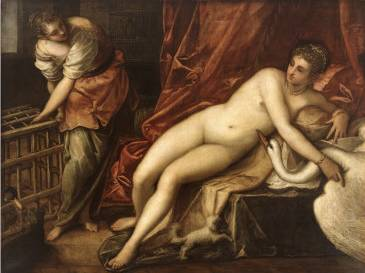 Leda and the Swan - Jacopo Robusti Comin Tintoretto