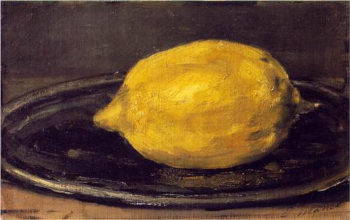 Lemon -Edouard Manet